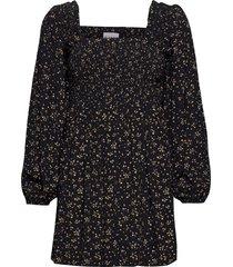 mini dress kort klänning svart ganni