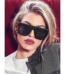 retro square oversized sunglasses