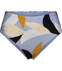 aloha high waisted pant & cheeky bottom bikinitrosa blå seafolly