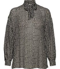 adelaide shirt blouse lange mouwen zwart nué notes