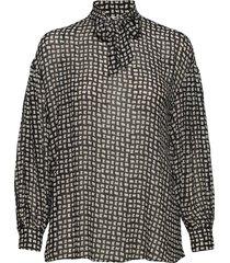 adelaide shirt blouse lange mouwen zwart nué notes