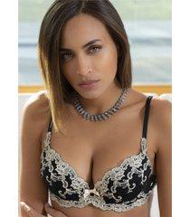 ambra lingerie bh'splatinum fashion push up bh 0338f