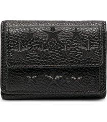 jimmy choo nemo studded wallet - black