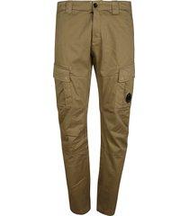 c.p. company satin stretch cargo pants