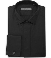 french cuff cotton dress shirt