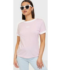 wrangler ringer tee lilac ice t-shirts