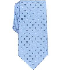 club room men's porter slim neat tie, created for macy's