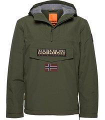 rainforest winter 2 hoodie trui groen napapijri