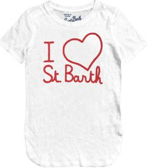 i love st. barth embroidered t-shirt