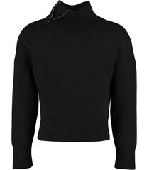 jacquemus jannu turtleneck sweater