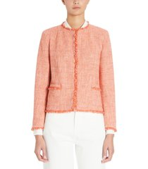 weekend max mara tweed jacket