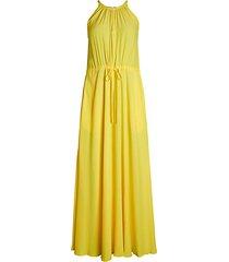 sally halter maxi dress