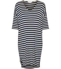 jurk dericka stripes