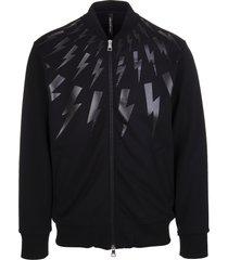 man black thunderbolt sweatshirt
