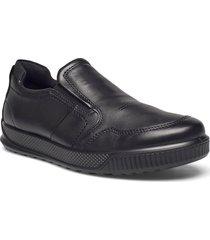 byway loafers låga skor svart ecco