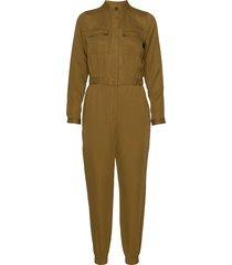 tencel™ flight jumpsuit jumpsuit groen banana republic