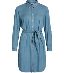 klänning vibista denim belt dress