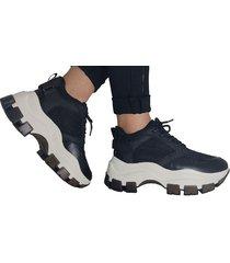 sneakers  black and white lorena herrera