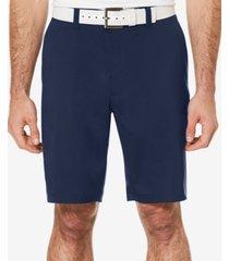 pga tour men's big and tall flat-front shorts