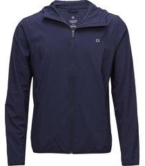 wind jacket outerwear sport jackets blå calvin klein performance