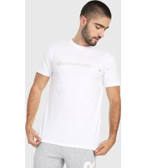 camiseta blanco-gris asics performance