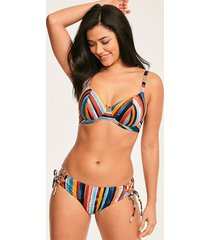 bali bay underwire plunge bikini top