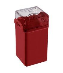 saleiro / pimenteiro casual 5 x 4 x 8 cm vermelho bold coza vermelho bold coza
