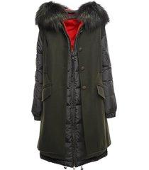 bicolor double coat