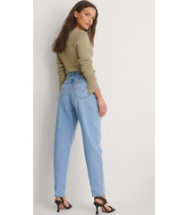 levi's high loose taper jeans near sighted - blue