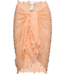 cotton gauze sarong beach wear orange seafolly