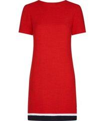 vestido regular anita rojo tommy hilfiger