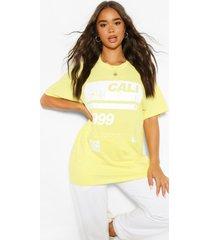 99 cali slogan t-shirt, maïszijde