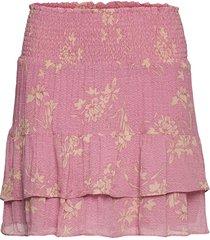 mories skirt kort kjol rosa second female