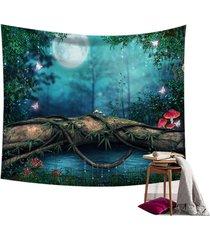 hada del bosque pared de colgante de la tapicería de bohemia hippie banda colcha decoración - # 4