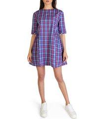 korte jurk tommy hilfiger - dw0dw052201