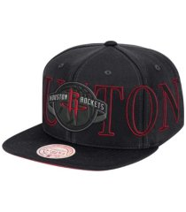 mitchell & ness houston rockets winners circle snapback cap