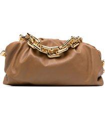 bottega veneta the chain pouch shoulder bag - neutrals