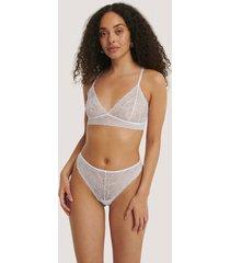 na-kd lingerie stringtrosa - white