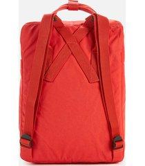 fjallraven kanken backpack - rowan red