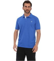 camisa polo clube náutico slim masculino