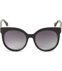 55mm round cat eye sunglasses