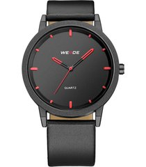 casual quartz laether wristwatch round digi simple digital orologi minimalisti per uomo donna