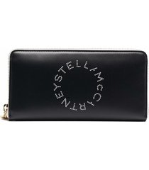 stella mccartney stella logo continental wallet