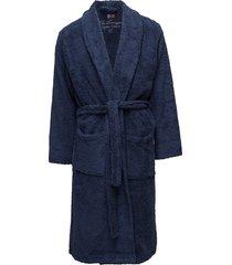 lexington original bathrobe morgonrock blå lexington home