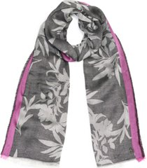 calvin klein modern floral pashmina wrap