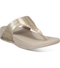 fitflop electra classic toe-thong sandals women's shoes
