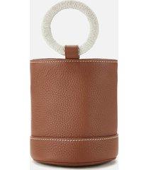 simon miller women's bonsai 15 bucket bag - root beer bottle