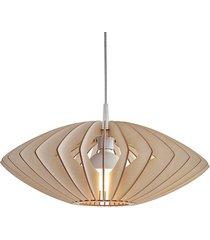 axia lampa wisząca ze sklejki