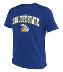top of the world men's san jose state spartans midsize t-shirt