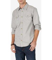 wrangler men's woven shirt